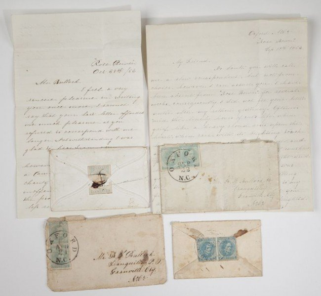 562: NC Confederate Officer's Archive With Images - 8