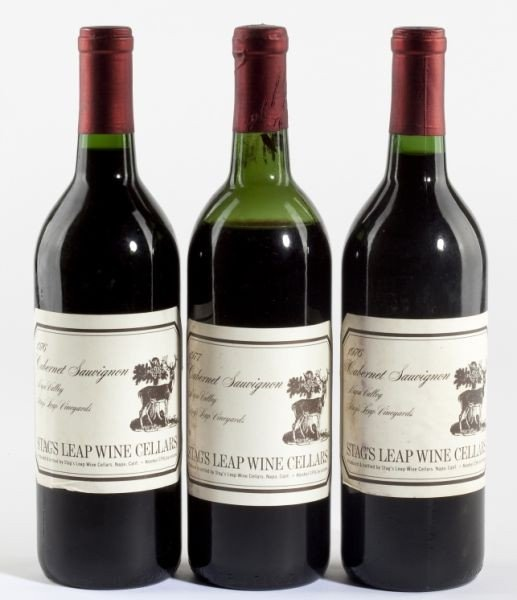 4003: 1976 & 1977 Stags Leap Winery