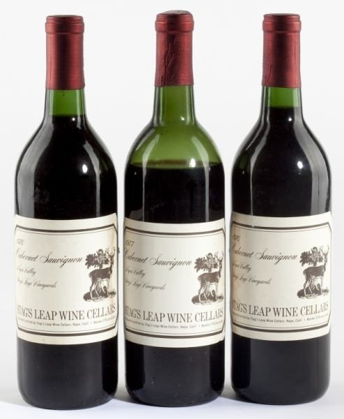 4004: 1976 & 1977 Stags Leap Winery