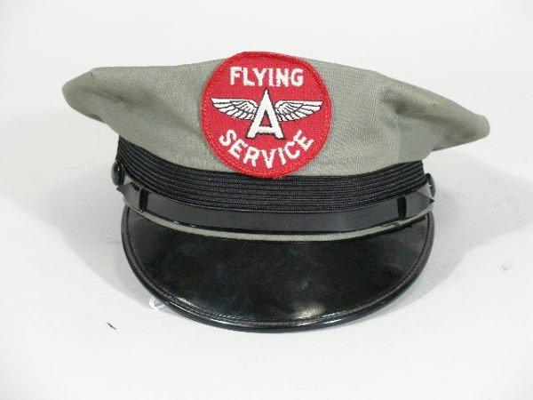 2: Vintage Flying A Gas Station Attendant Hat Shirt,
