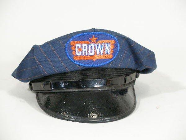 6: Vintage Gas Station Attendant Hat, Crown,