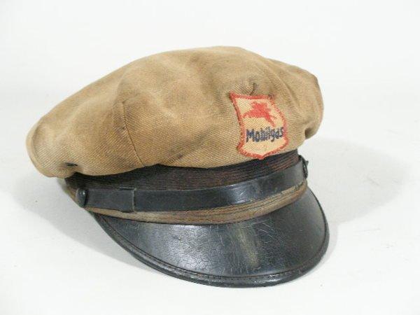 10: Vintage Gas Station Attendant Hat, Mobil Gas,