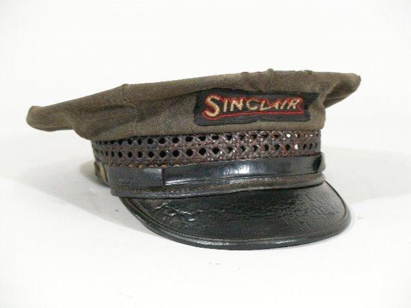 13: Vintage Gas Station Attendant Hat, Sinclair,