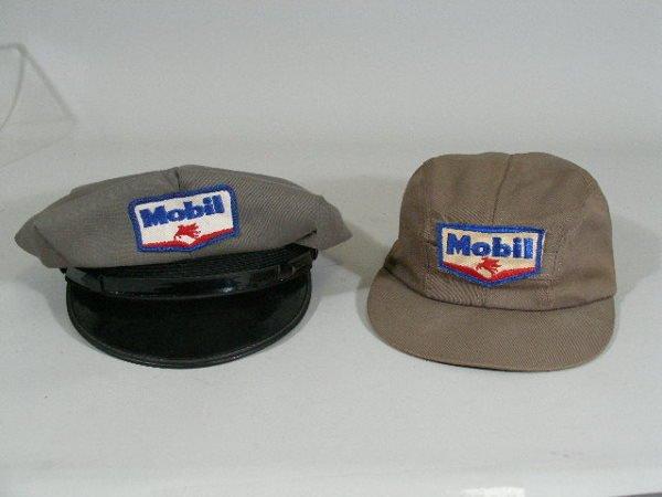 17: Three Vintage Gas Station Attendant Items, Mobil,