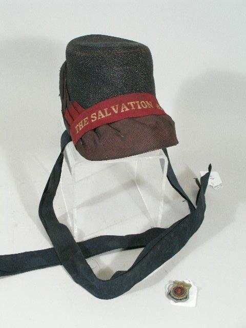 42: Vintage Salvation Army Bonnet,