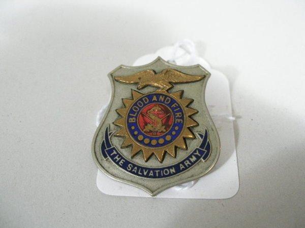 42: Vintage Salvation Army Bonnet, - 2