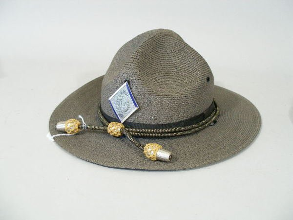 156: Two VintageNC State Highway Patrol Hats and Shirt,