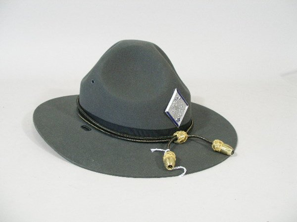 156: Two VintageNC State Highway Patrol Hats and Shirt, - 2