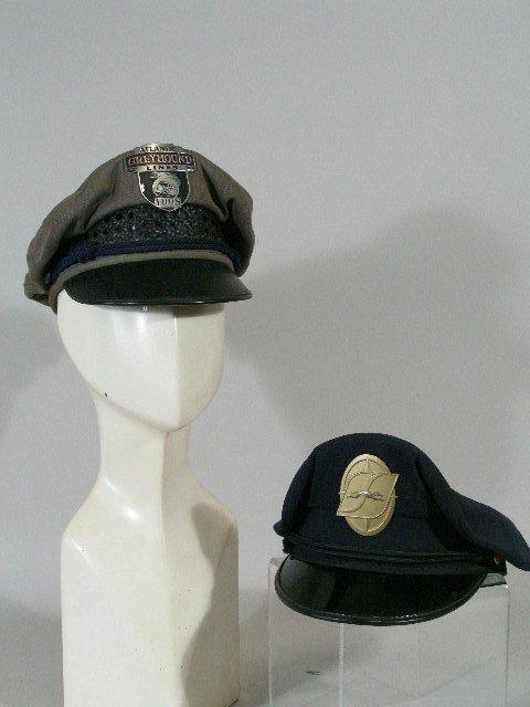 276: Five Vintage Greyhound Bus Driver Hats, - 3