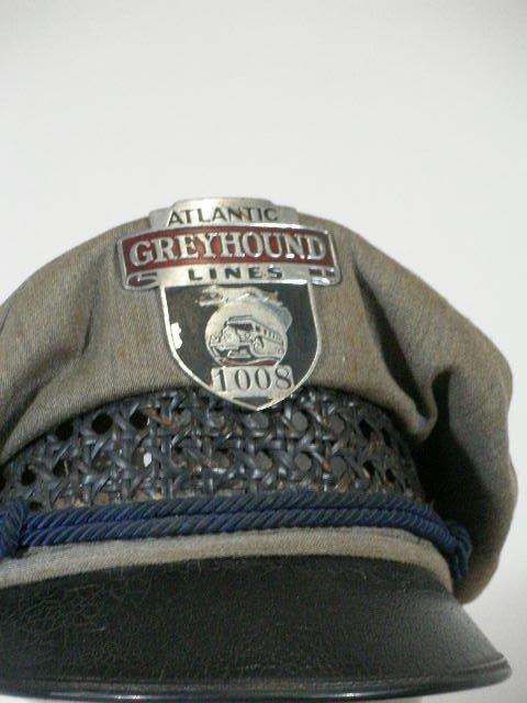 276: Five Vintage Greyhound Bus Driver Hats, - 4