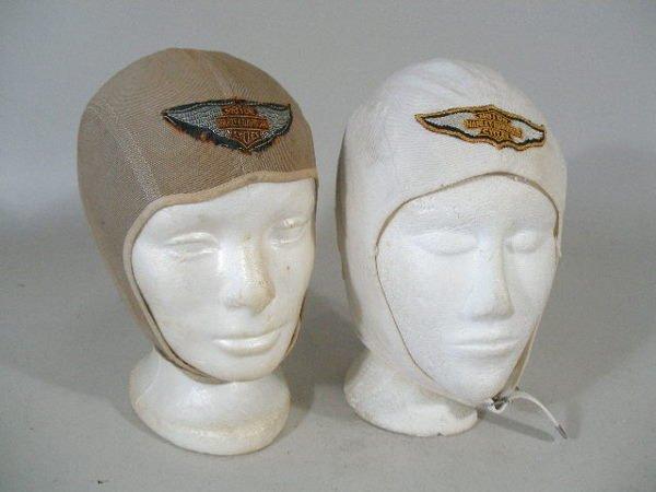 295: Group of Four Vintage Harley Davidson Hats, 1950s,