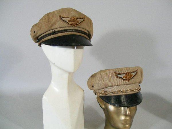 295: Group of Four Vintage Harley Davidson Hats, 1950s, - 2