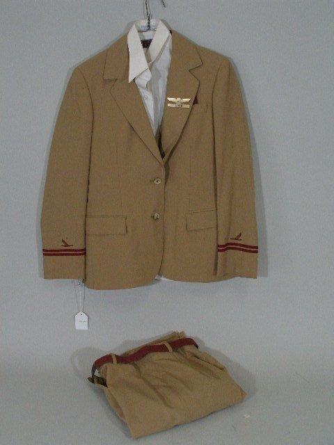 382: Vintage Piedmont Airlines Stewardess Uniform,