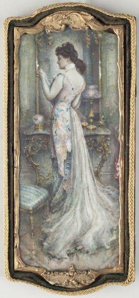11: J. Clausen Coope (Am., circa 1900), Portrait