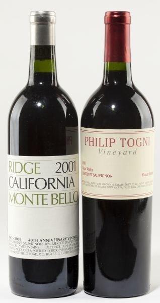 1012: 2001 Ridge & Philip Togni Cabernet Sauvignon