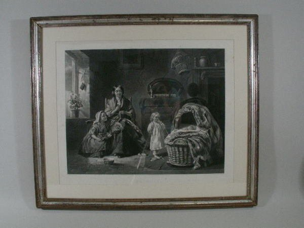 "1021: ""Jealousy"" Engraving, after T.P. Hall,"