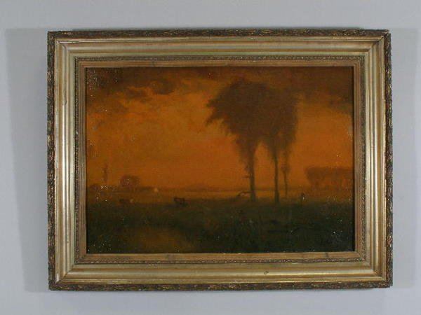 1237: George Inness Jr. (NY, 1854-1920), Pastoral Lands