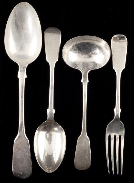 7: Victorian Sterling Silver Flatware