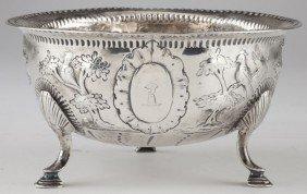 13: George III Irish Silver Sugar Bowl