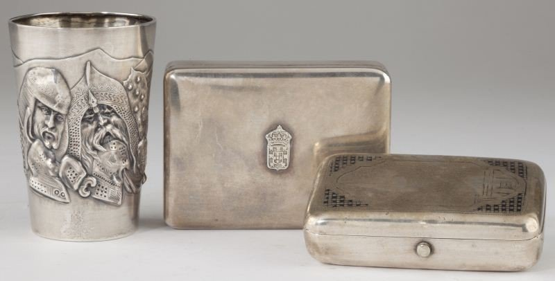 14: Three Silver Objects of Interest