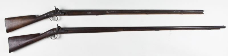 5: Two 19th century English Percussion Fowlers