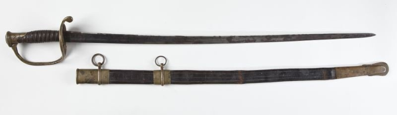 21: McElroy Confederate Foot Officer's Sword