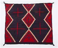 133: Navajo Germantown Blanket