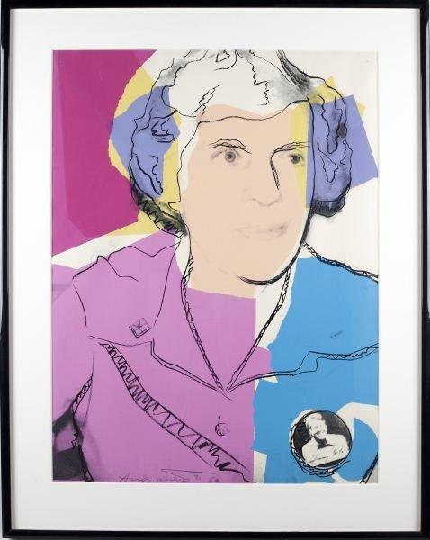 386: Andy Warhol (Am., 1928-1987), Lillian Carter