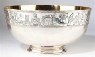 576: Franklin Mint Sterling Silver Bicentennial Bowl