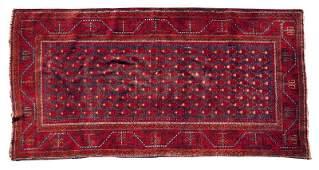 454 SemiAntique Persian Area Rug
