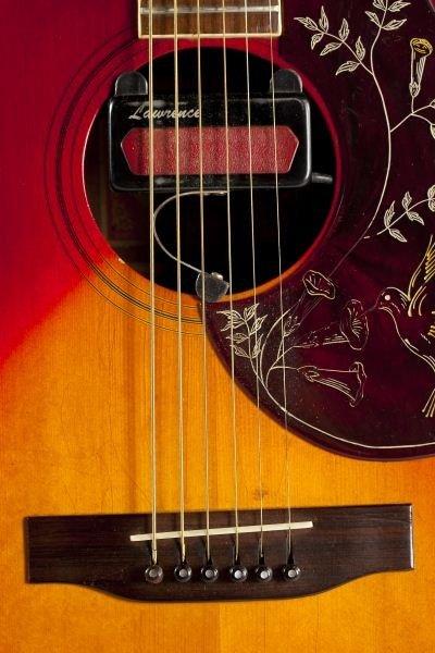 696: 1974 Gibson Hummingbird Flat Top Guitar - 3