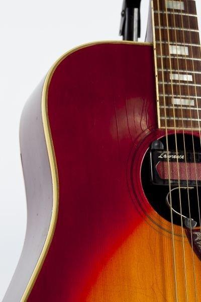 696: 1974 Gibson Hummingbird Flat Top Guitar - 5