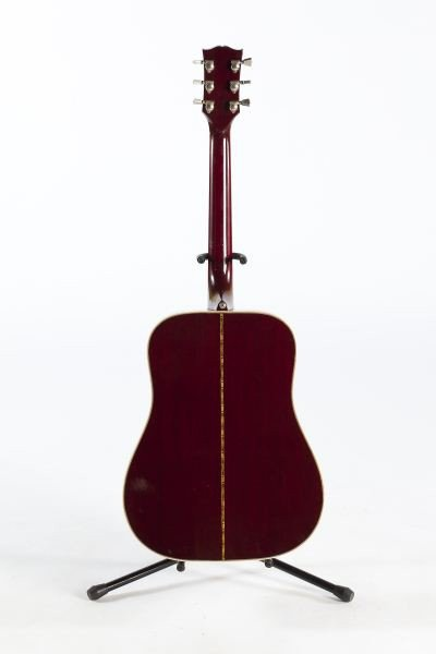 696: 1974 Gibson Hummingbird Flat Top Guitar - 6