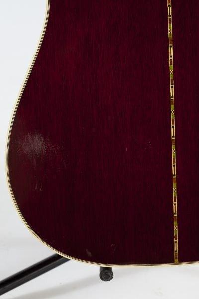 696: 1974 Gibson Hummingbird Flat Top Guitar - 8