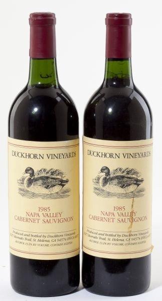 4004: Duckhorn Vineyard, Cabernet Sauvignon - Vintage 1