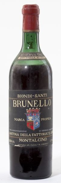 4009: Brunello di Montalcino - Vintage 1961