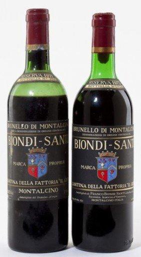 1971 & 1975 Brunello Di Montalcino