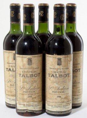 Chateau Talbot - Vintage 1958