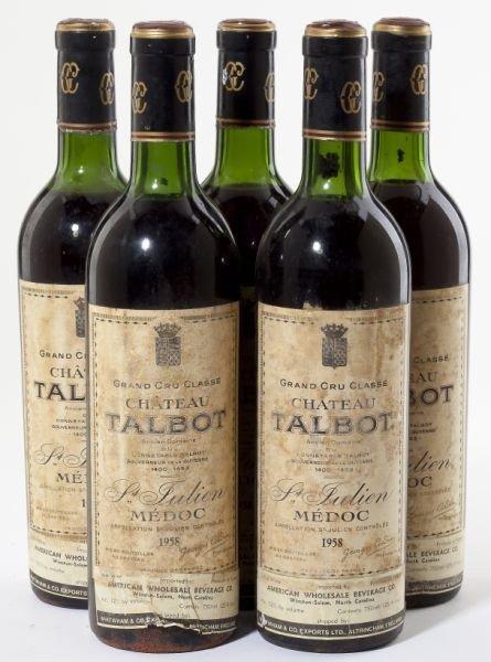 4016: Chateau Talbot - Vintage 1958
