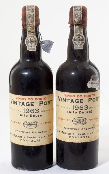 4118: Borges Vintage Port - Vintage 1963