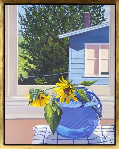 9: Danny Robinette (NC), Flowers by Windowsill