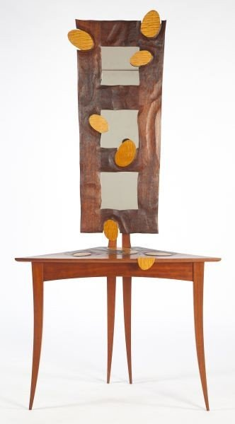 16: Michael Joerling (NC), Sculptural Hall Table