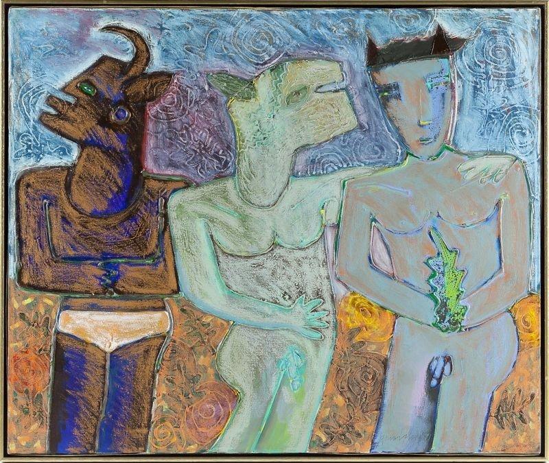 108: Paul Hrusovsky (NC), Three Figures