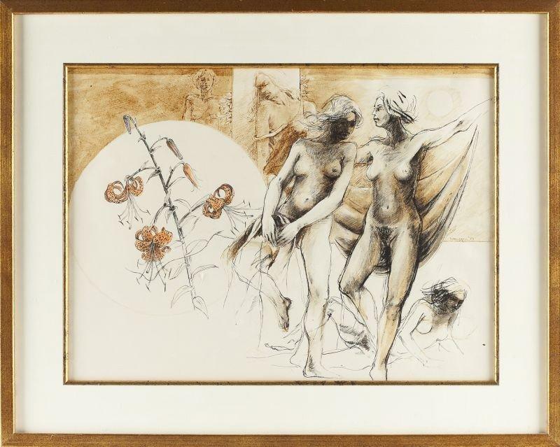 """110: Swietlan Kraczyna (b. 1940), """"Salome"""""""