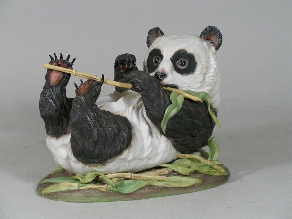 "3: Boehm Porcelain, ""Giant Panda Cub"","