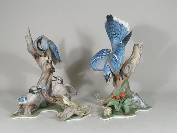 """6: Boehm """"Bluejays"""", Group of Three, Limited Edition,"""