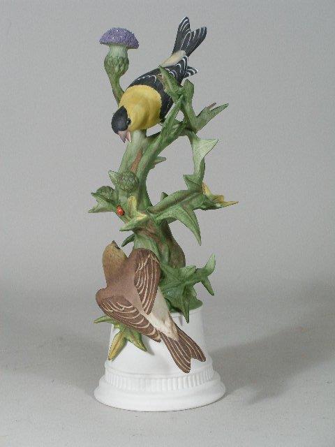 "11: Boehm Porcelain ""Goldfinches"", Limited Edition,"