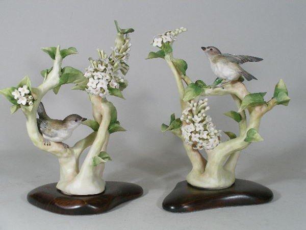 15: Pair of Cybis Porcelain Birds,