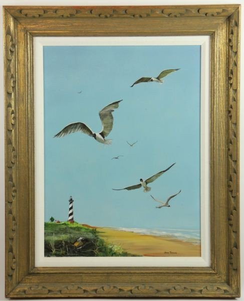 "15: John Taylor (20th c.), ""Cape Hatteras - Lookout"""