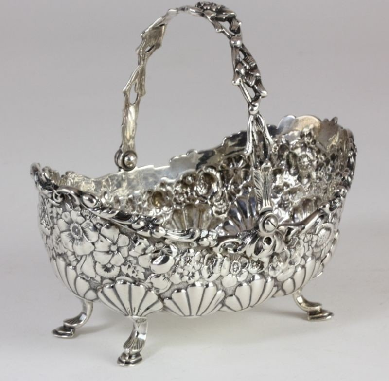 2: Tiffany & Co. Sterling Handled Basket